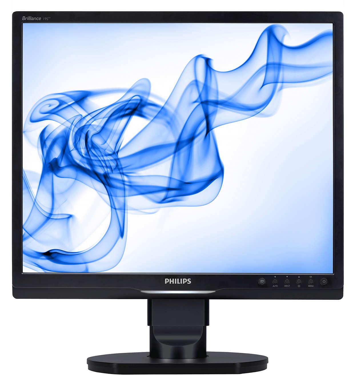 Ergonomisk skärm förbättrar produktiviteten