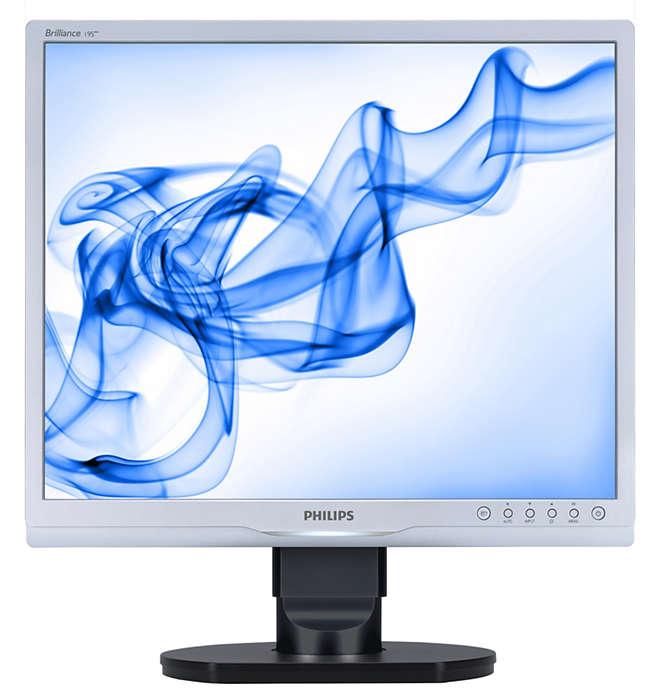 Ergonomischer Monitor zur Steigerung der Produktivität