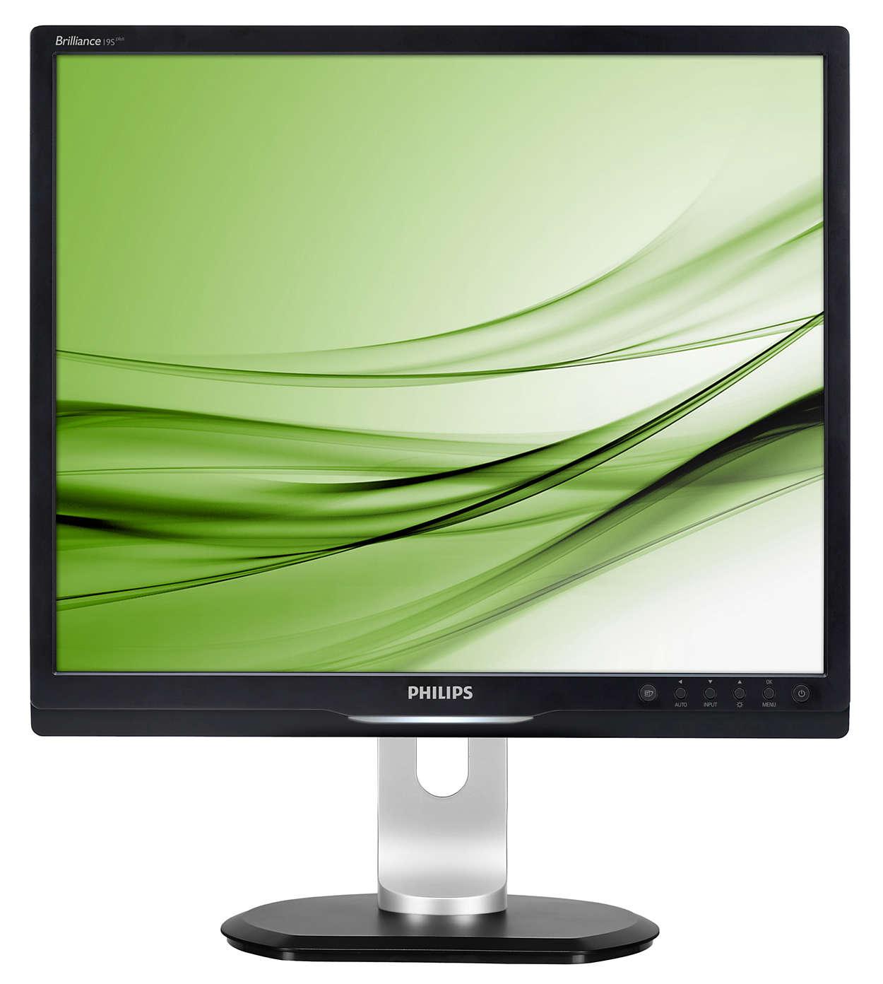 Ergonomisk skjerm forbedrer produktiviteten