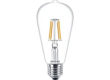 CLA LEDBulb ND 4.3-40W E27 WW ST64 CL