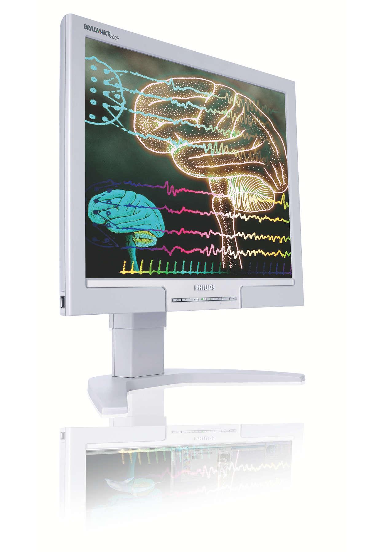 Tıbbi ortamlar için yüksek kaliteli ekran