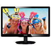 شاشة LCD مع إضاءة LED خلفية