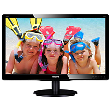 200V4QSBR/01  LCD monitor with LED backlight