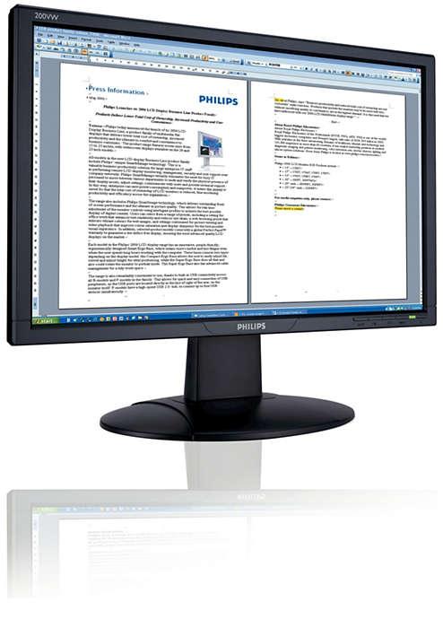 Prestazioni widescreen a prezzi convenienti