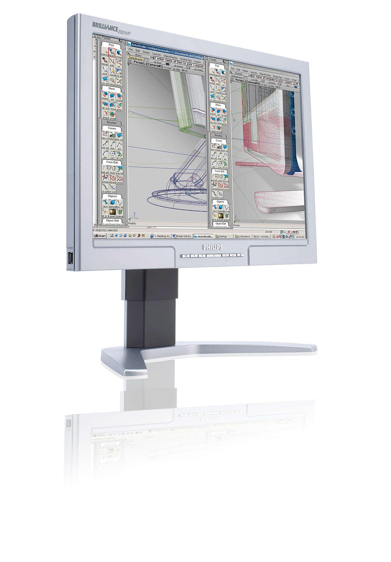 Progettato in modo professionale per utenti esperti