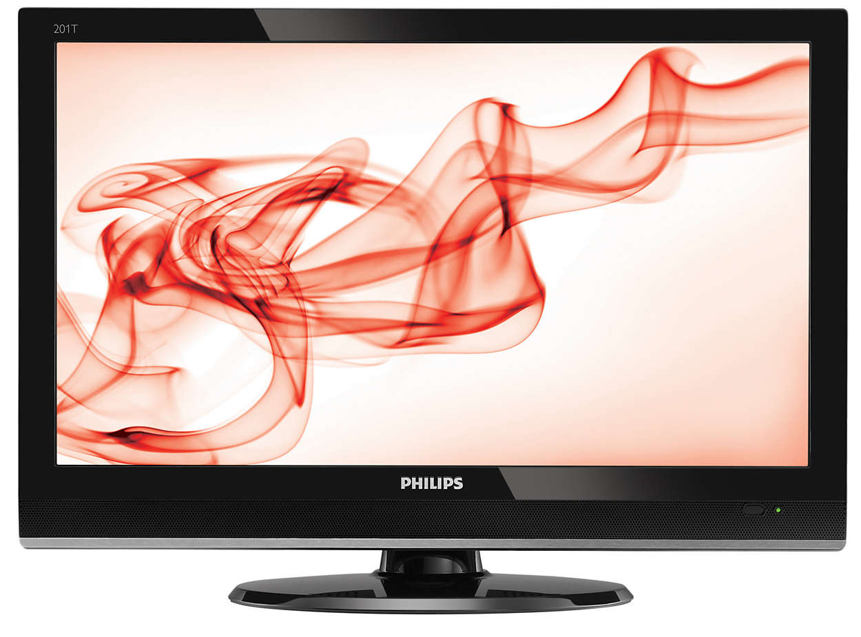 Digital HD TV monitor in a stylish package