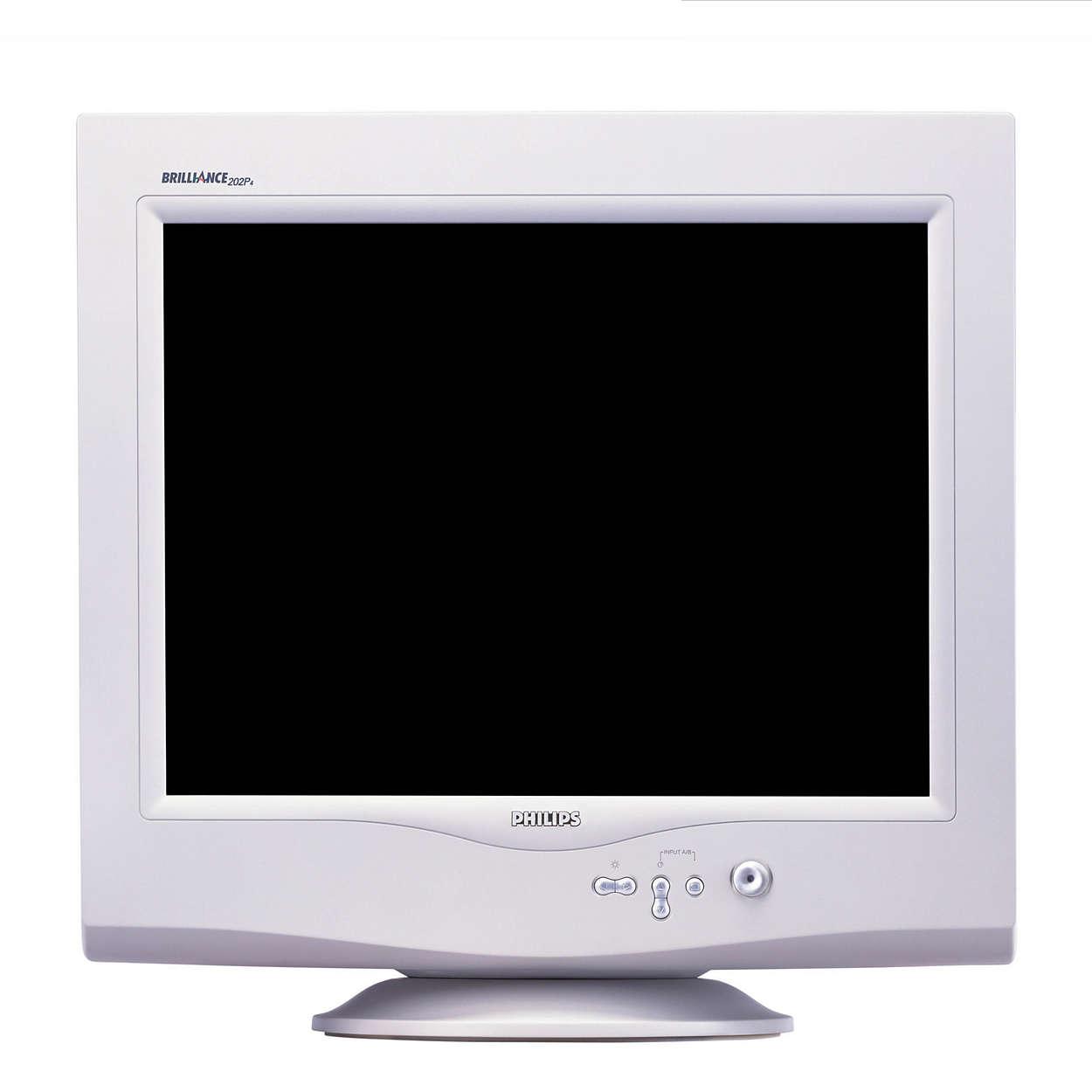 Obrazovka profesionální mřížkou monitoru o úhlopříčce 55cm