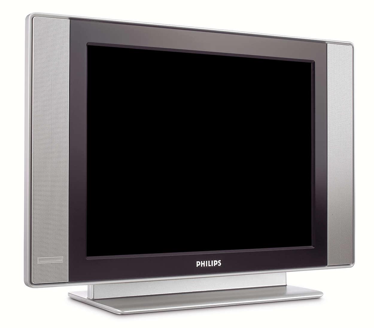 Platt TV med hotelläge