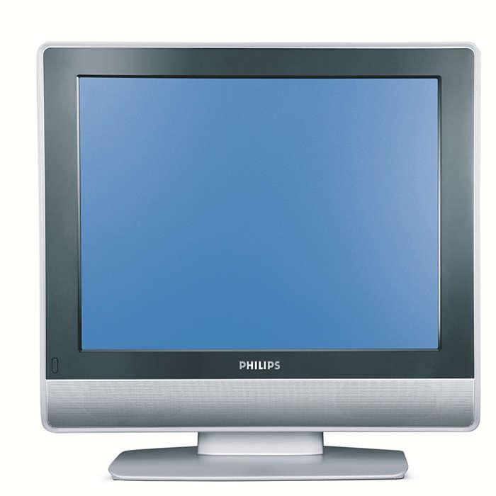 nemocničný TV s plochou obrazovkou