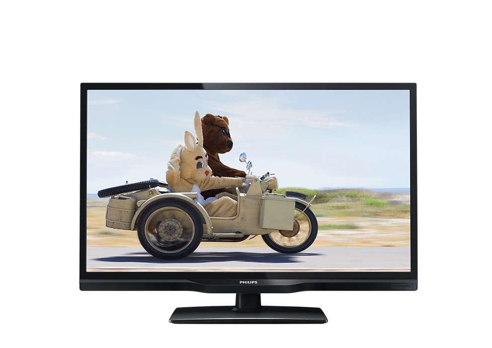 Štíhly LED televízor