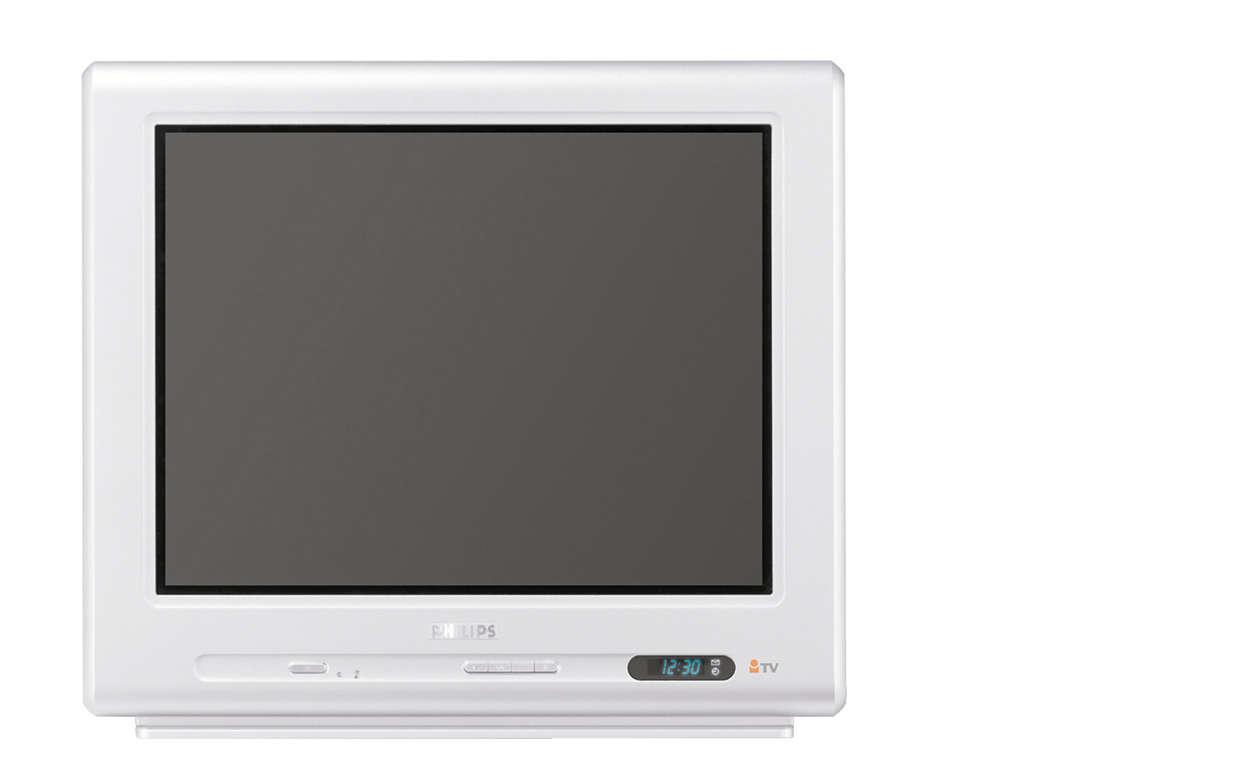 """21"""" телевизор система Real Flat"""