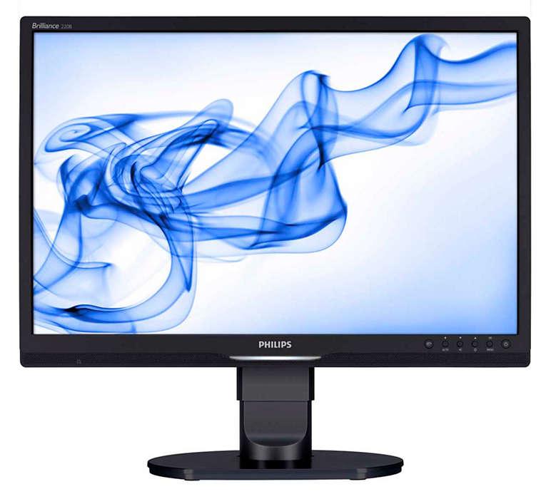 人體工學的企業級顯示器,可提高生產力