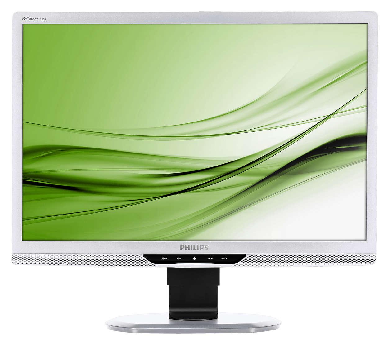 Eco-friendly display for enhanced productivity