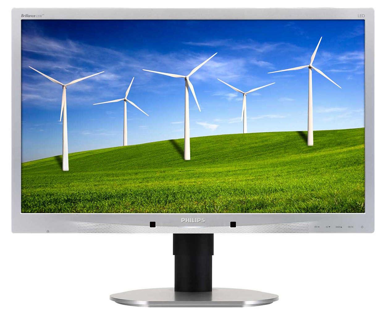 可持續環保設計熒幕