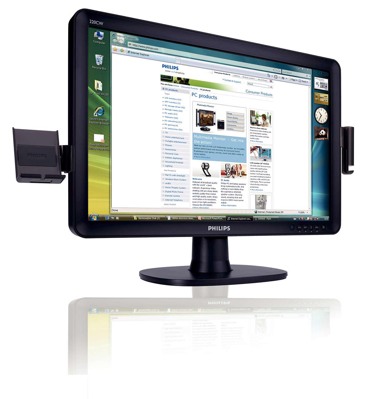 Úplně první monitor sklipy SmartAccessory