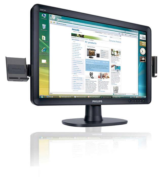 De eerste SmartAccessory-monitor