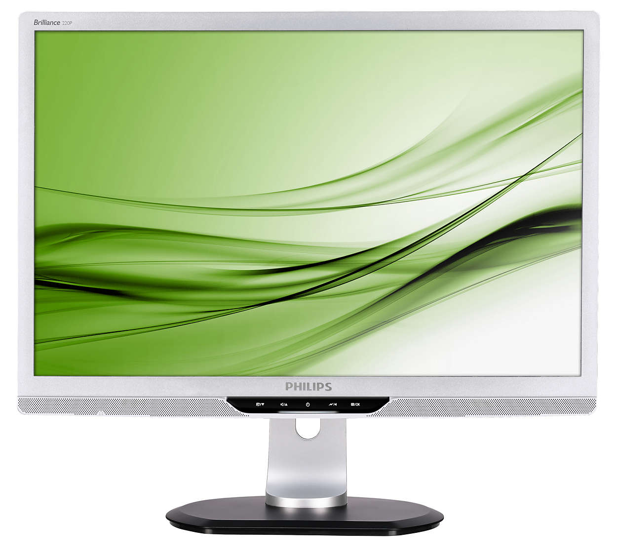 lcd monitor mit drehbarem fu usb und audio 220p2es 00. Black Bedroom Furniture Sets. Home Design Ideas
