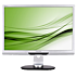 Brilliance Monitor LCD dengan dudukan pivot, USB, Audio