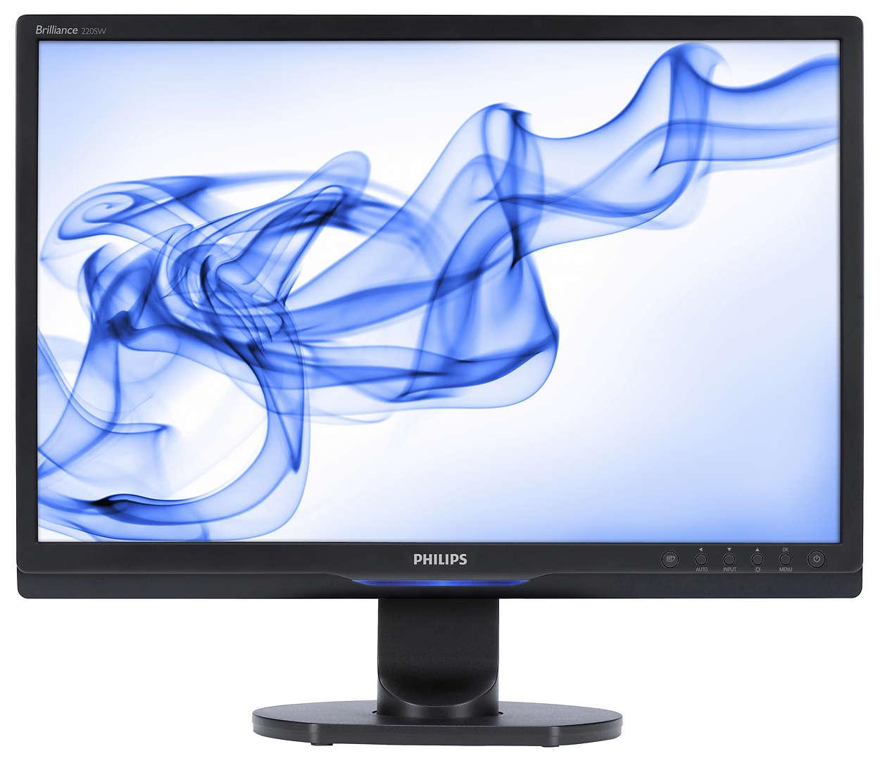 Ecrã panorâmico repleto de funções para mais produtividade