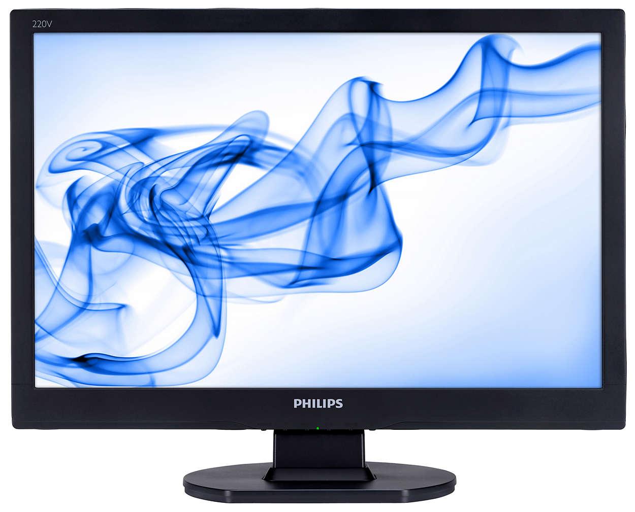 Widescreen-skärm gör den prisvärd