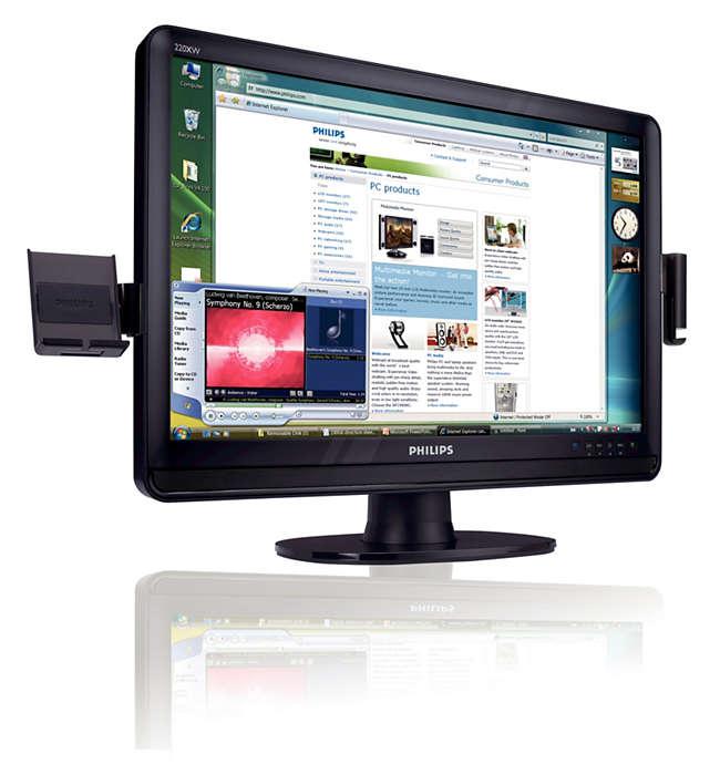 HDMI zapewnia obraz o wysokiej rozdzielczości