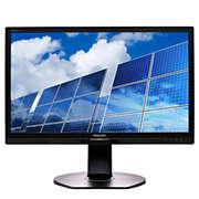 Brilliance Monitor LCD con retr. LED