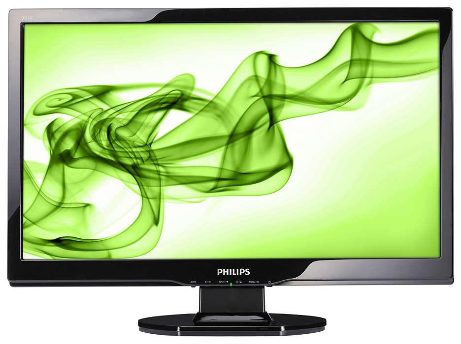 Full HD-Multimedia-Display mit HDMI-Anschluss