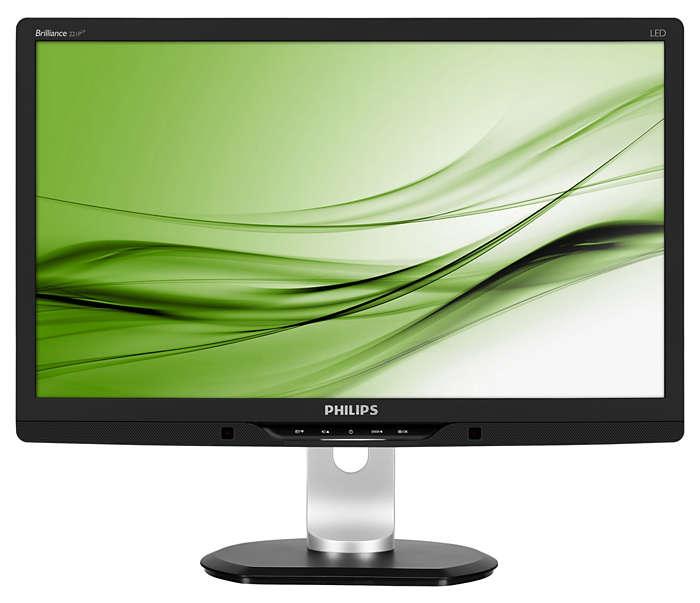 La innovadora pantalla con PowerSensor ahorra energía