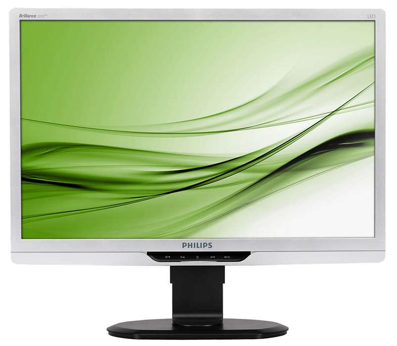 Ergonomisk LED-skärm förbättrar produktiviteten