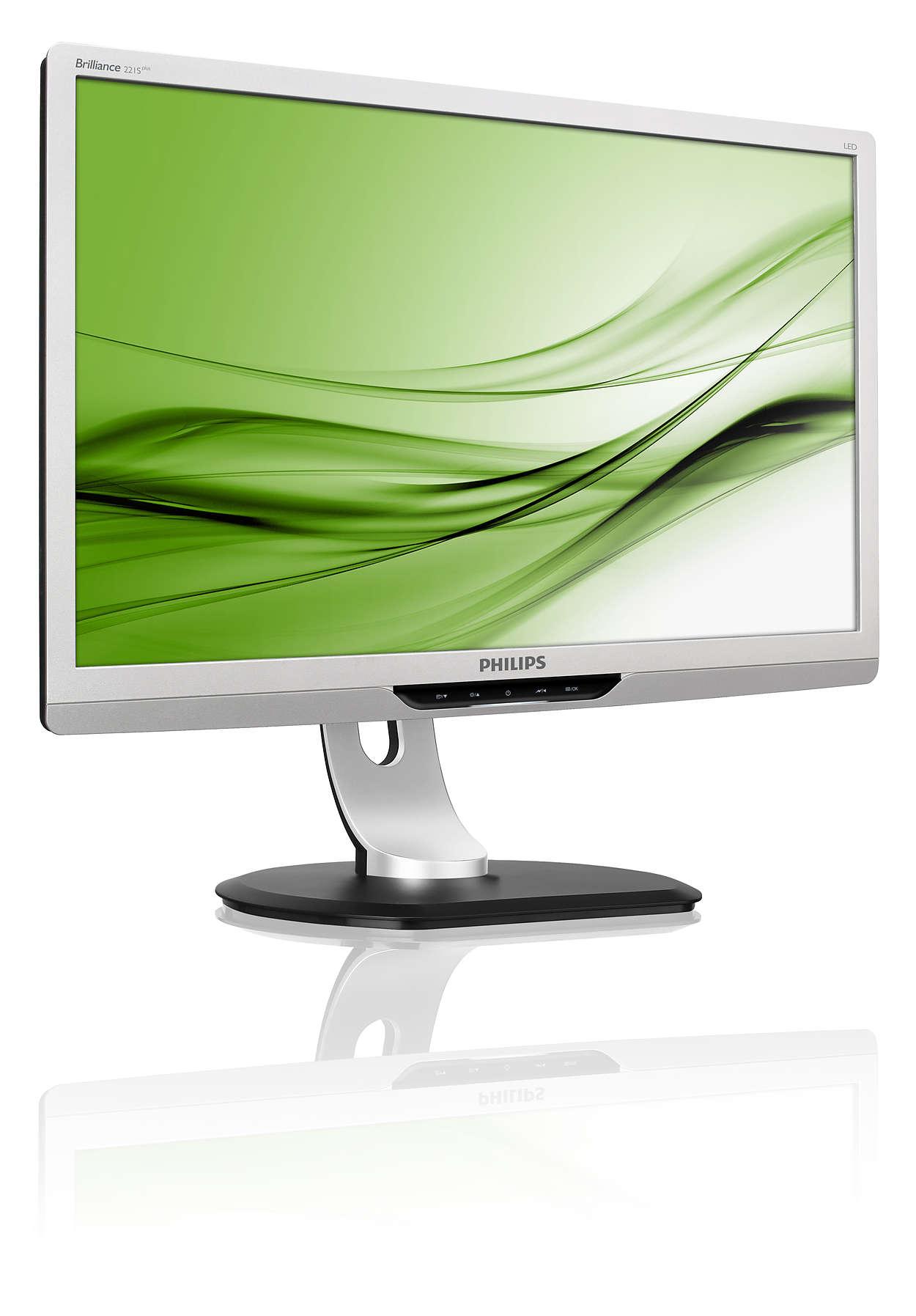 Productiviteitsverhogende ergonomische monitor