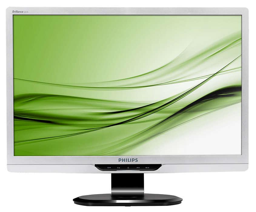 Geavanceerde monitor voor extra hoge productiviteit