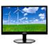 LCD monitor spodsvietením LED