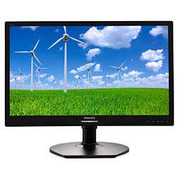 LED-bakgrundsbelyst LCD-skärm