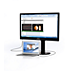 USB dokovací monitor LCD
