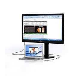 Monitor LCD con puerto USB