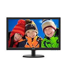223V5LHSB2/00  شاشة LCD مع SmartControl Lite