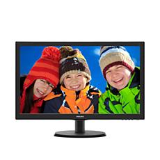 223V5LHSB2/89  شاشة LCD مع SmartControl Lite