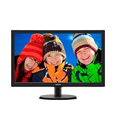 """223V5LHSB/00  LCD monitorius su """"SmartControl Lite"""""""