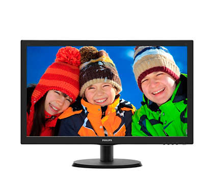 Great LED images in vivid colours