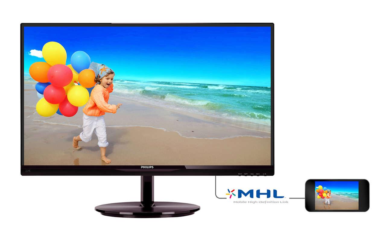 Imagens vibrantes com o monitor AH-IPS