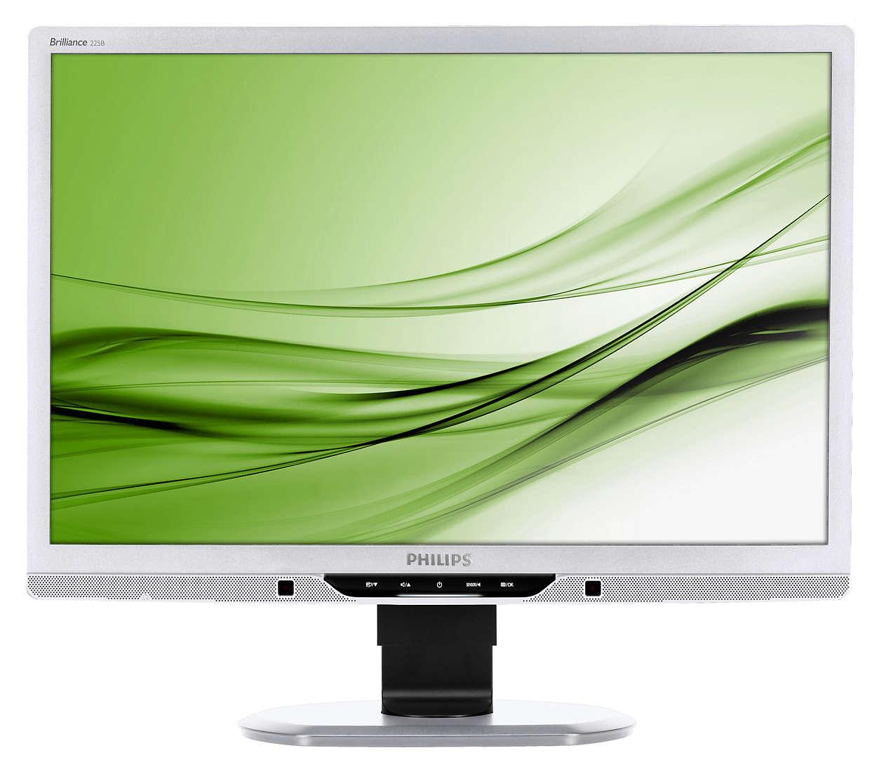 Premier écran PowerSensor à économie d'énergie