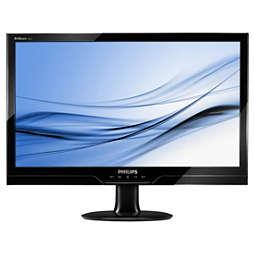 Monitor LCD dengan 2 mdtk