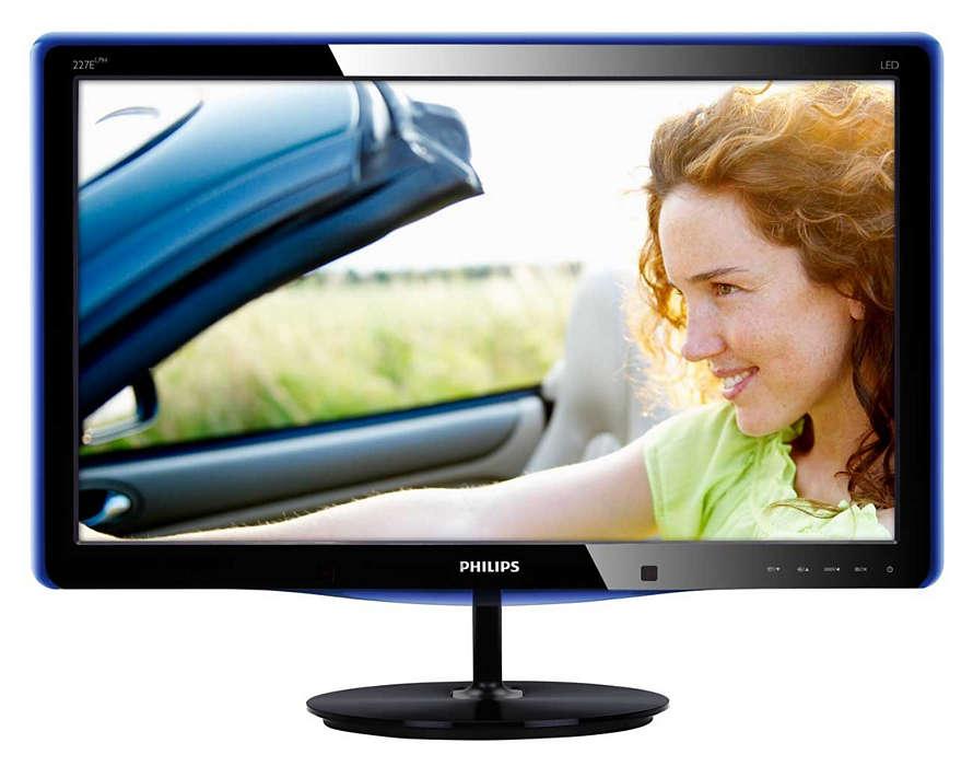 Elegant skærm med PowerSensor
