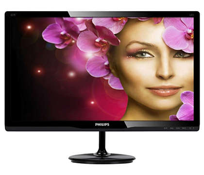 Elegant display enhances your viewing experience
