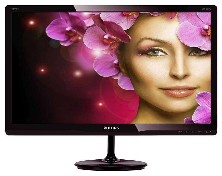High performance IPS display