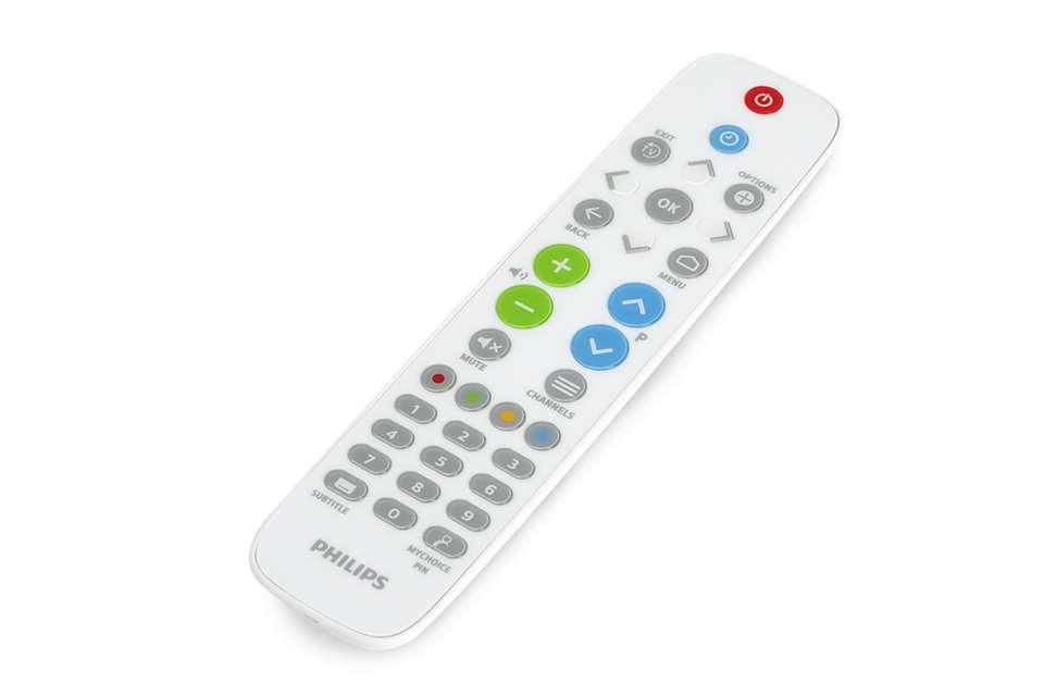 Healthcare remote control
