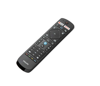 Controle remoto profissional para Android TV