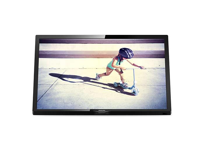 Ultraflacher Full-HD-LED-Fernseher