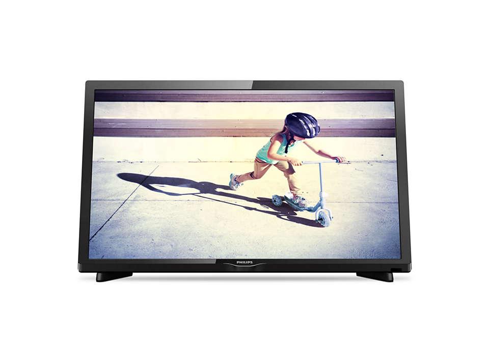 Izjemno tanek LED-televizor Full HD