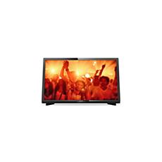 22PFT4031/12  Ultratyndt Full HD LED-TV